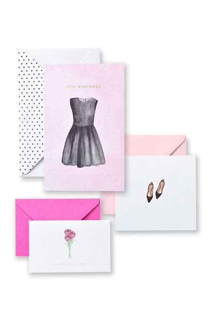 Image of GARTNER STUDIOS Assorted Fashion Icon Notecards & Thank You Cards - 60-Count