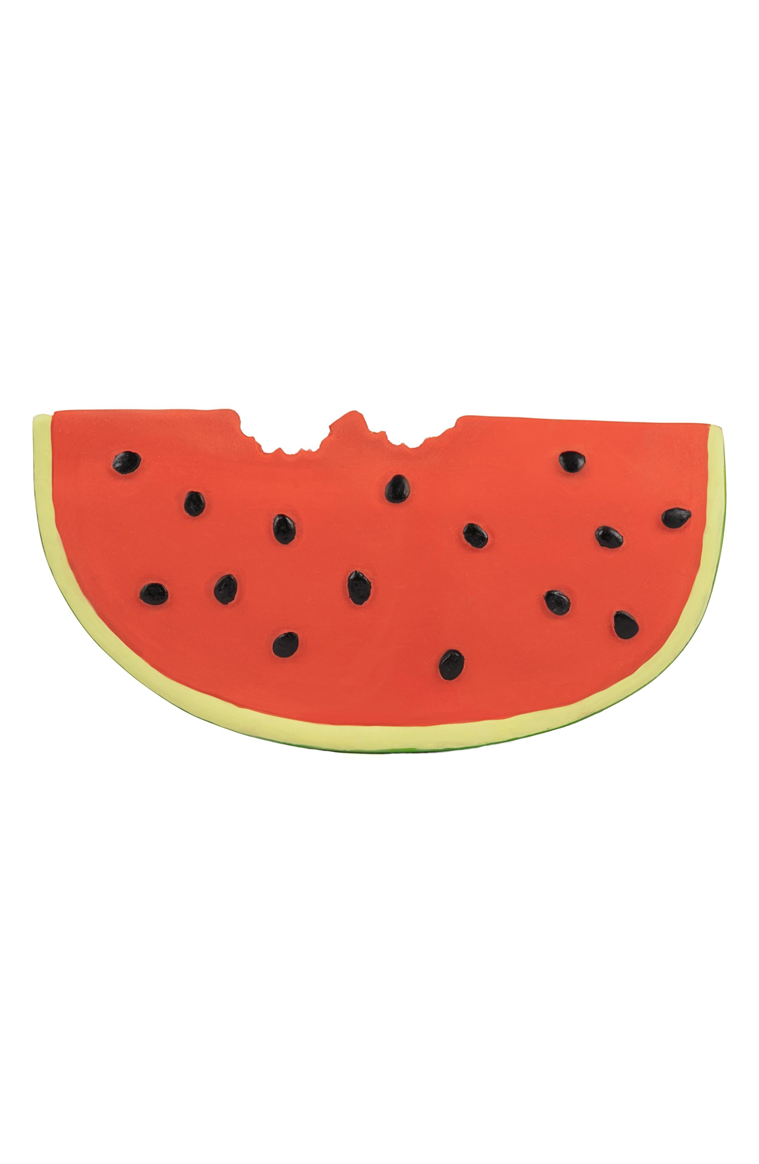 ,                             Oli and Carol Wally the Watermelon Teething Toy,                             Main thumbnail 1, color,                             600
