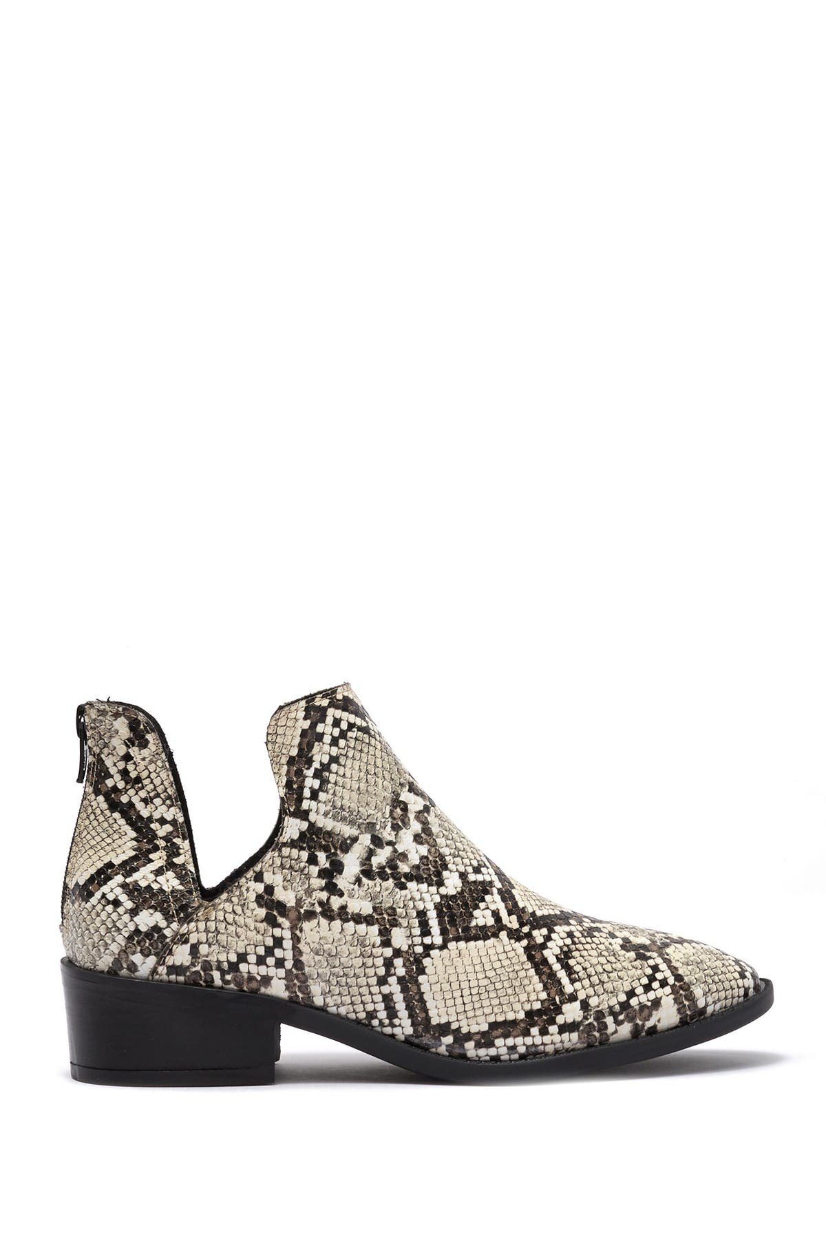 Laramie Suede Cutout Ankle Boot