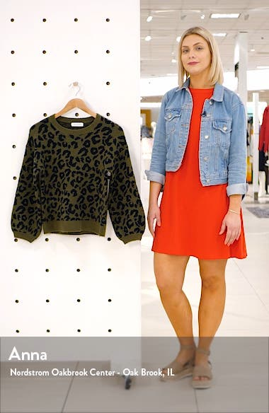 Leopard Sweater, sales video thumbnail