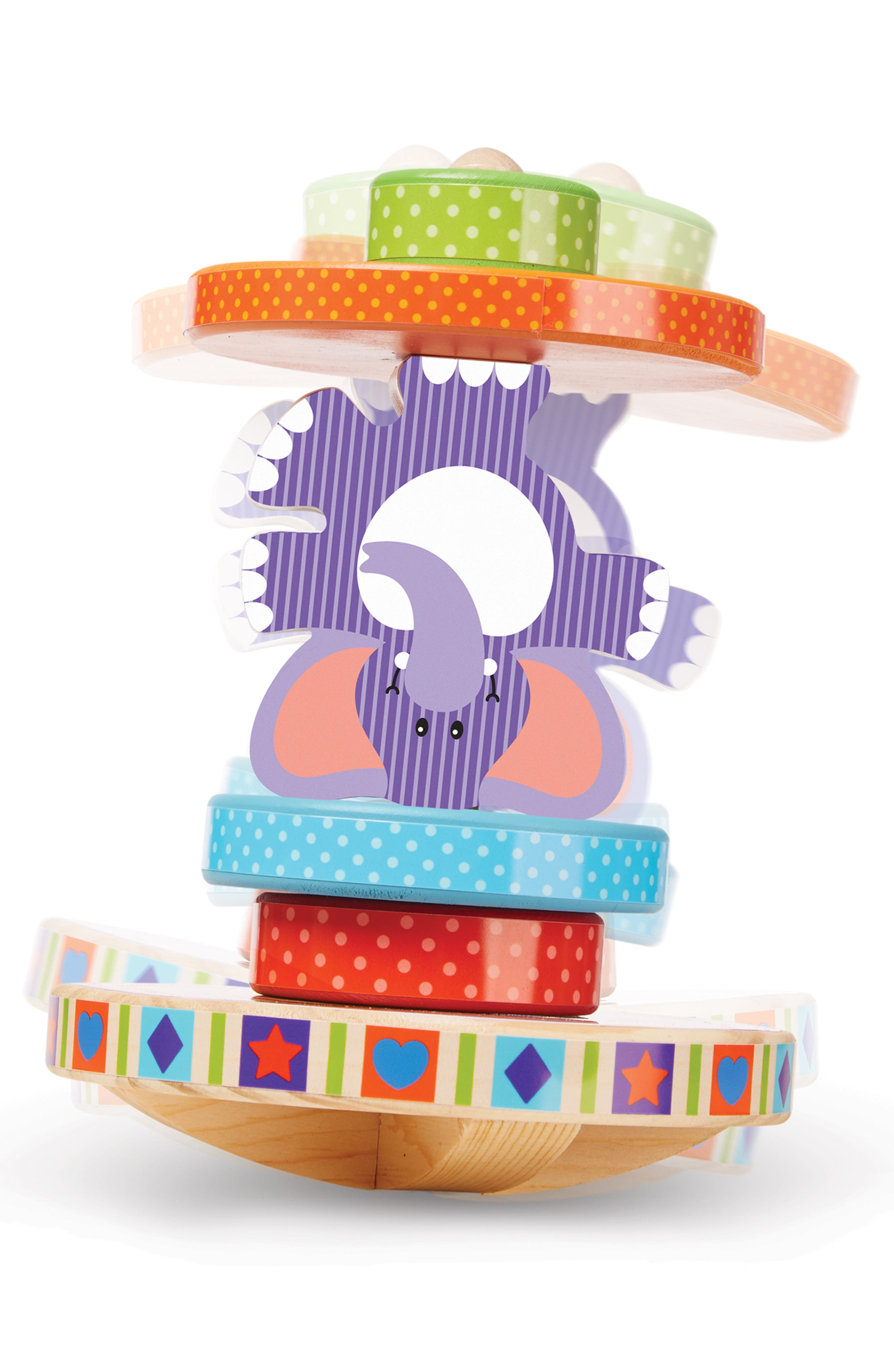 ,                             First Play Elephant Rocking Stacker,                             Alternate thumbnail 2, color,                             MULTICOLORED
