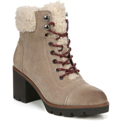 Naturalizer Varuna 2 Waterproof Lace-Up Bootie- Brown