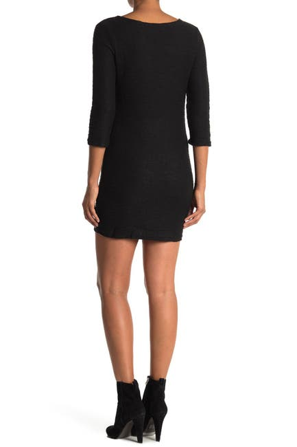Image of Angie Long Sleeve Sweater Dress