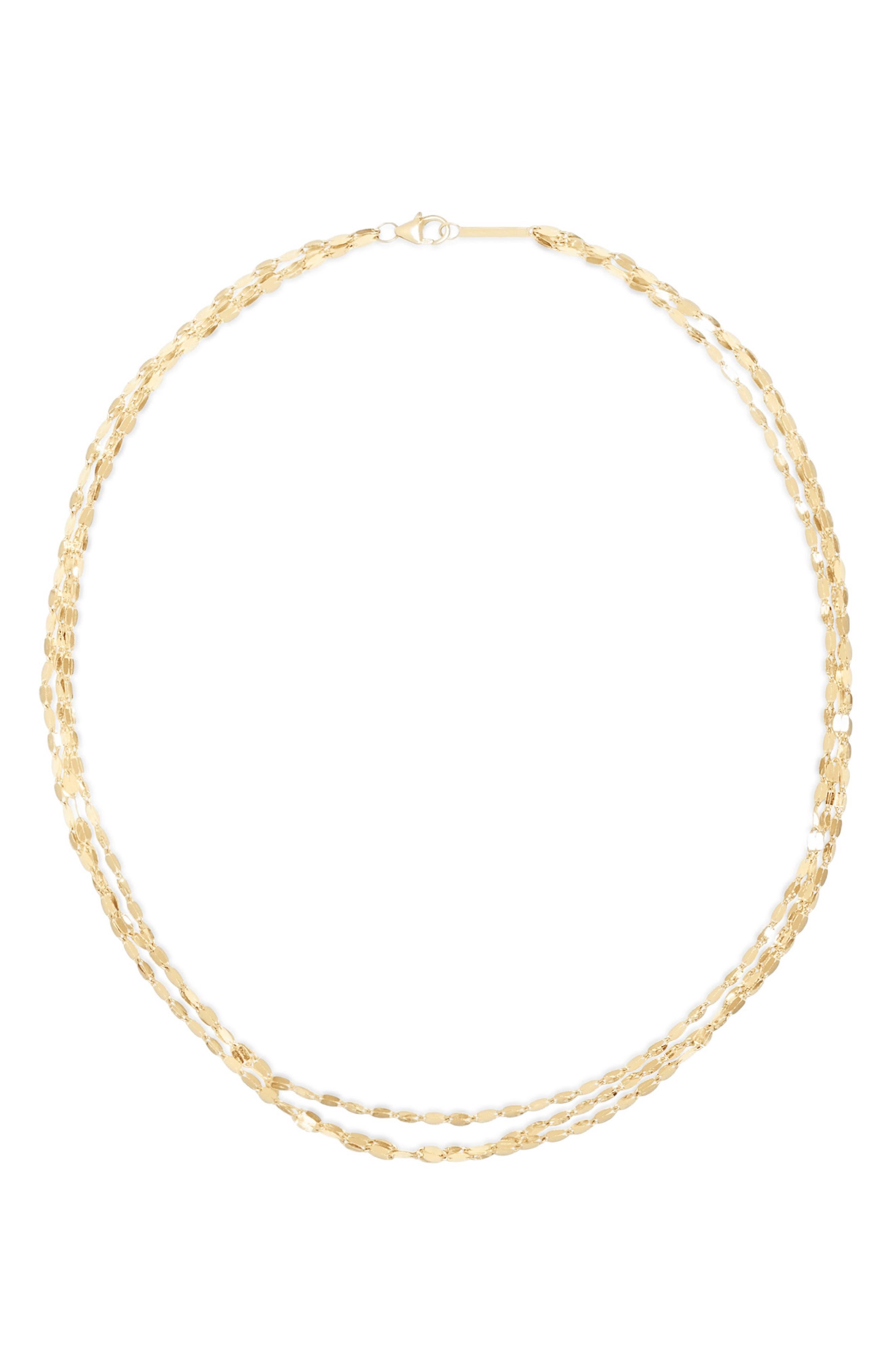 Blake Mega Gloss Triple Layer Necklace
