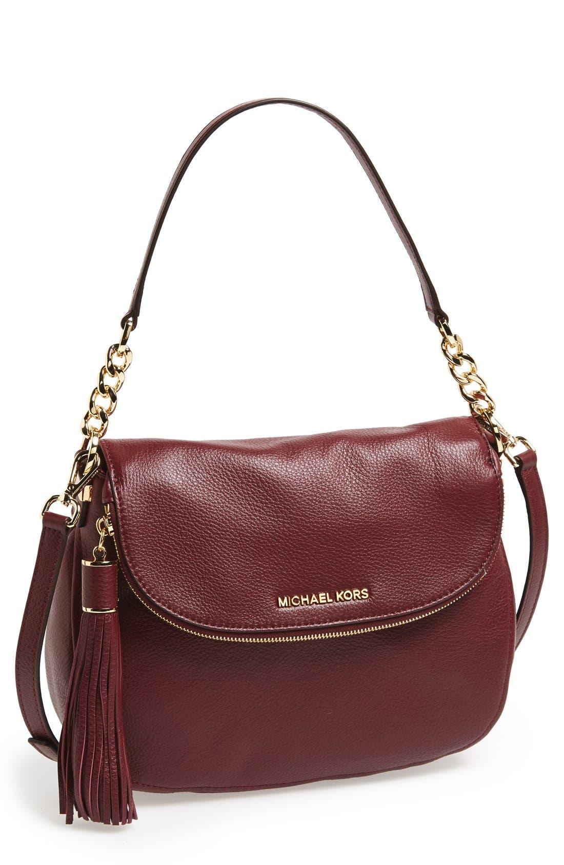 ,                             'Bedford Tassel - Medium' Convertible Leather Shoulder Bag,                             Main thumbnail 58, color,                             930