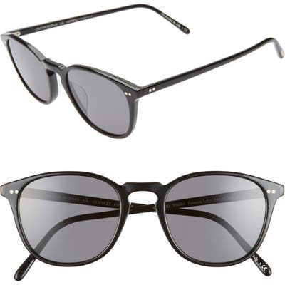 Oliver Peoples Forman L.a. 51Mm Polarized Round Sunglasses -