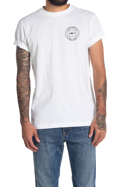 Image of Jack O'Neill Cravalle Graphic Printed T-Shirt