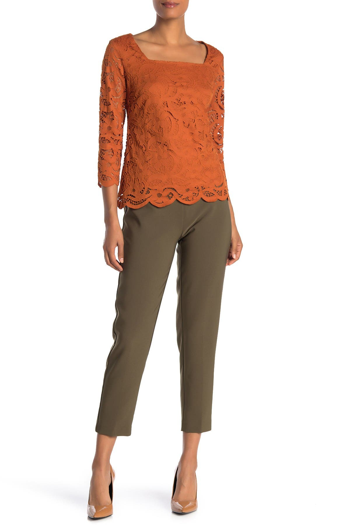 Image of NANETTE nanette lepore Coin Pocket Pull On Pants