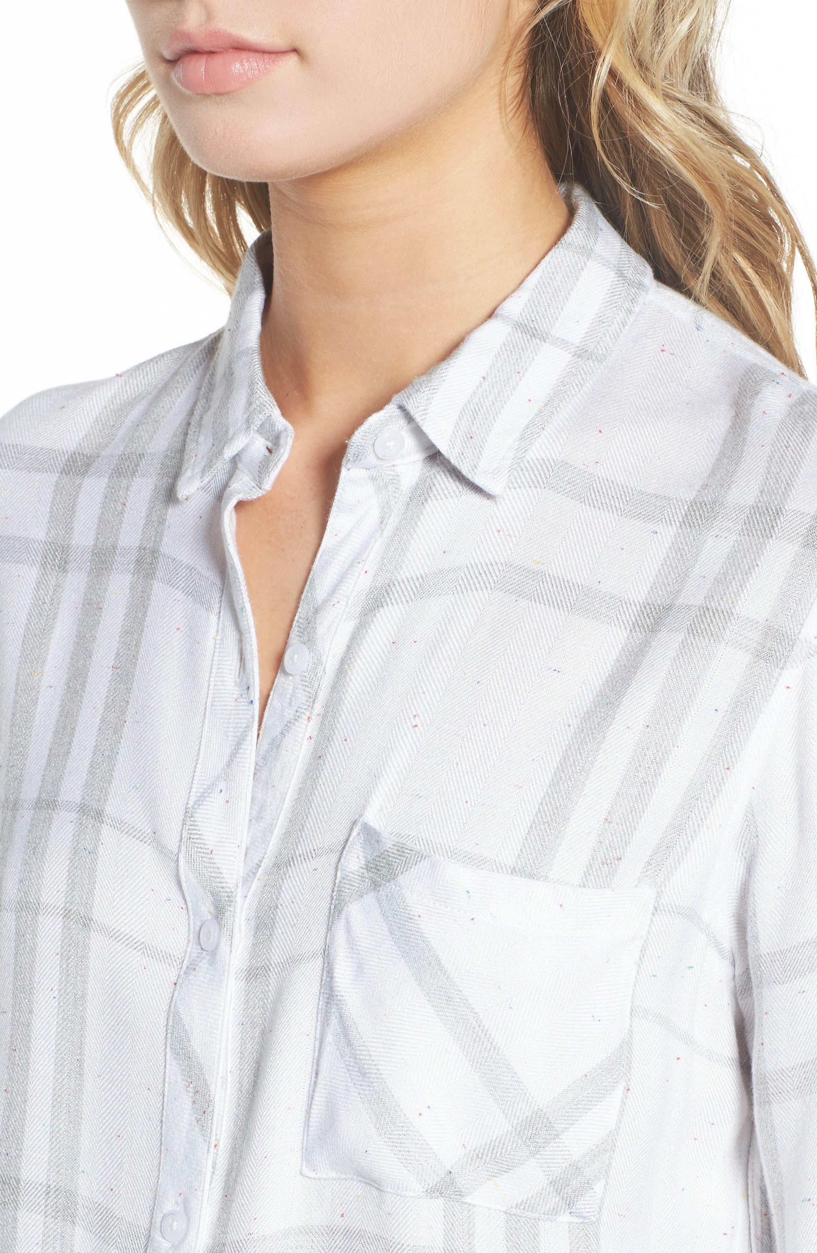 ,                             Hunter Plaid Shirt,                             Alternate thumbnail 606, color,                             109