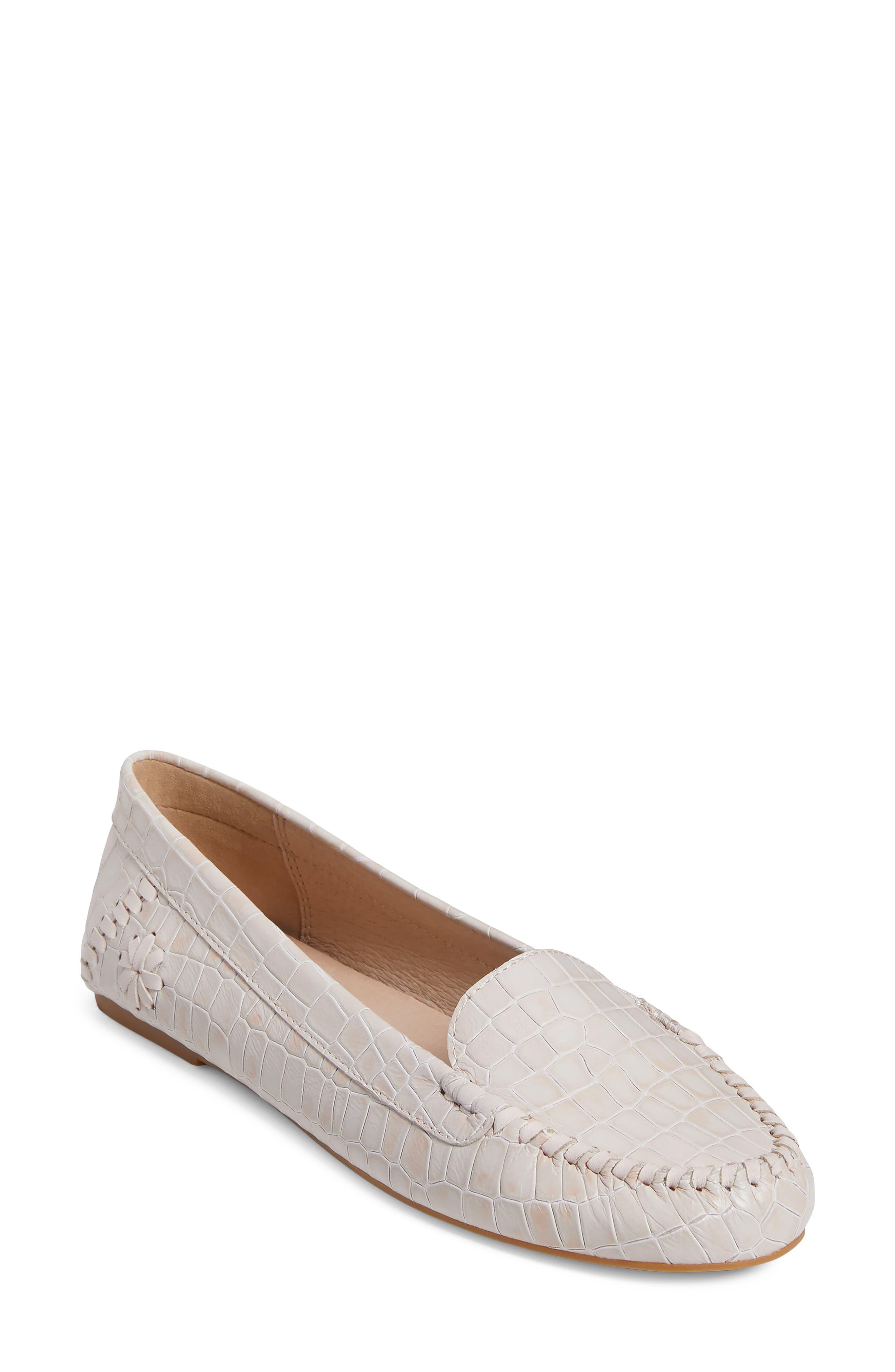 Millie Croc Embossed Loafer