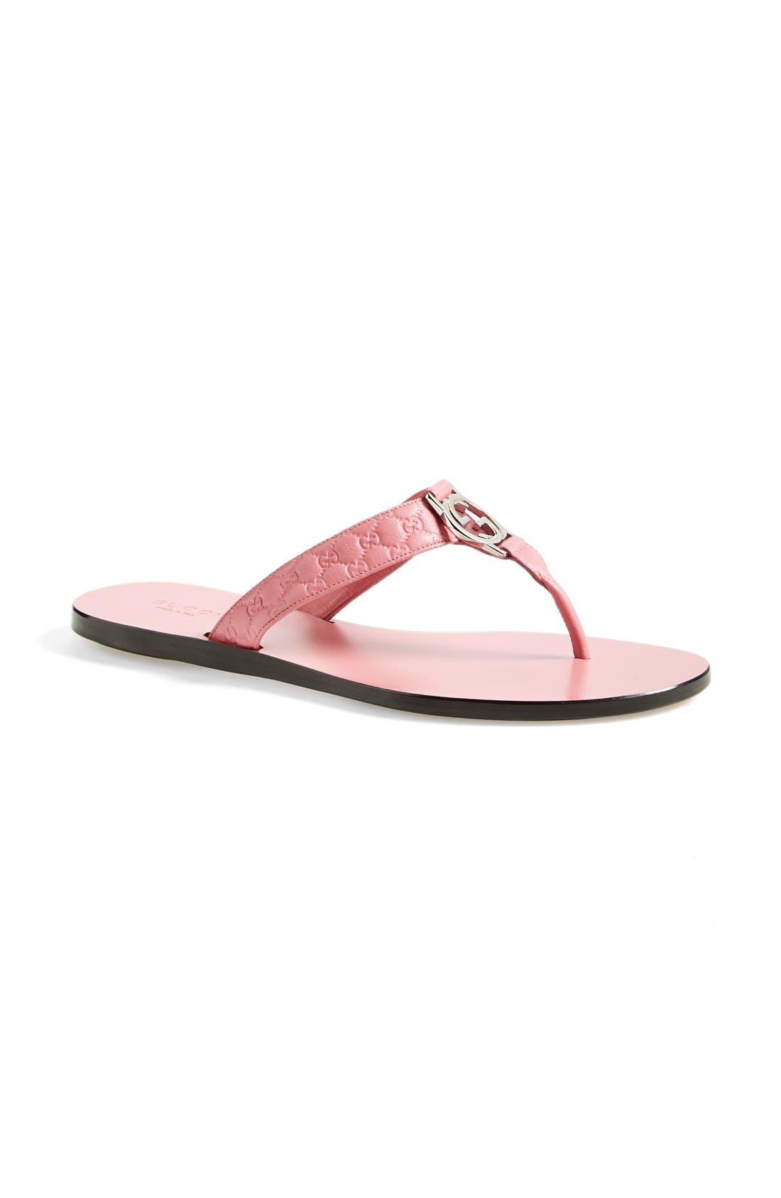 Gucci 'GG' Thong Sandal (Women)   Nordstrom