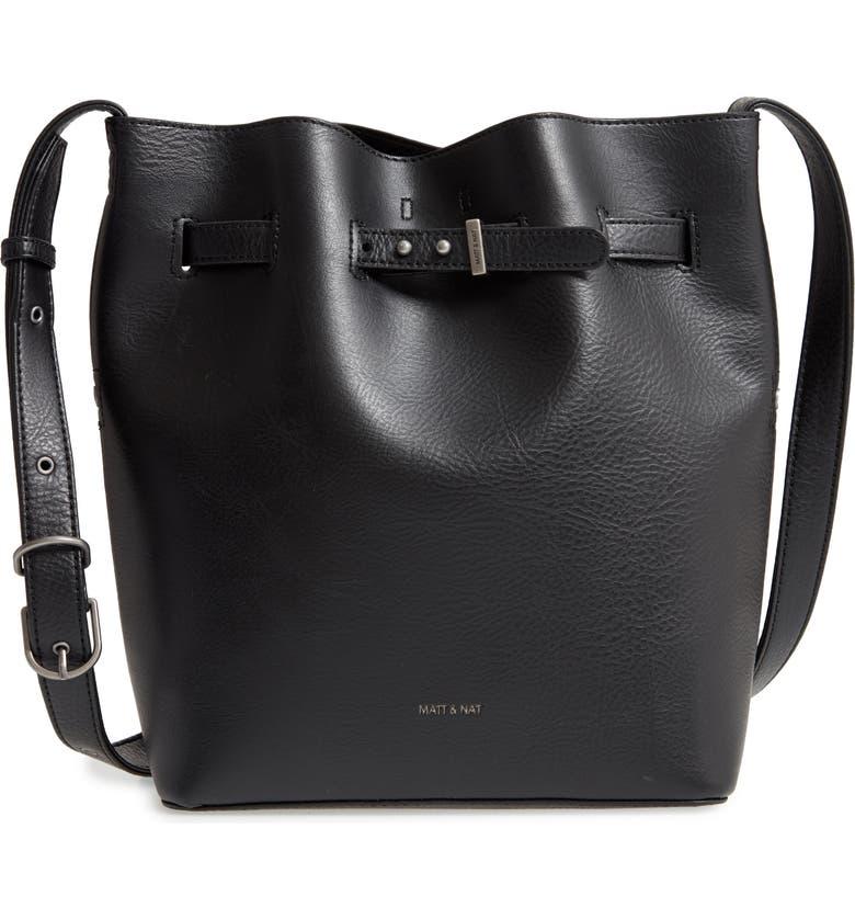 Lexi Faux Leather Bucket Bag by Matt & Nat
