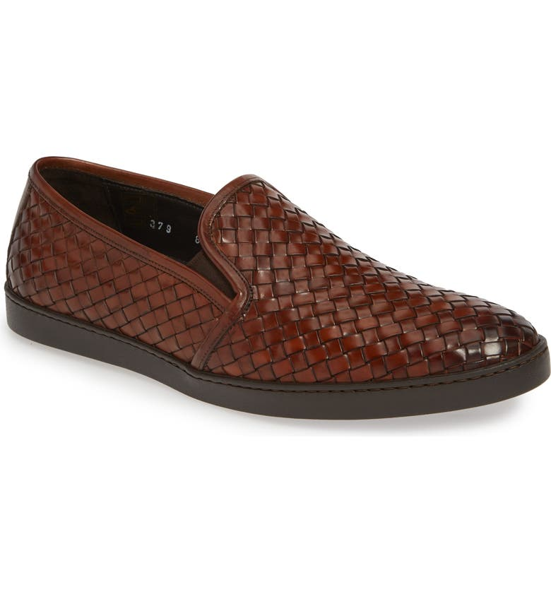 TO BOOT NEW YORK Diverte Venetian Loafer, Main, color, BROWN LEATHER