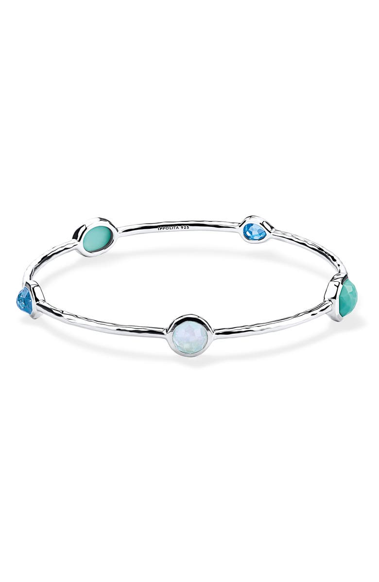 IPPOLITA Rock Candy Bangle, Main, color, WATERFALL
