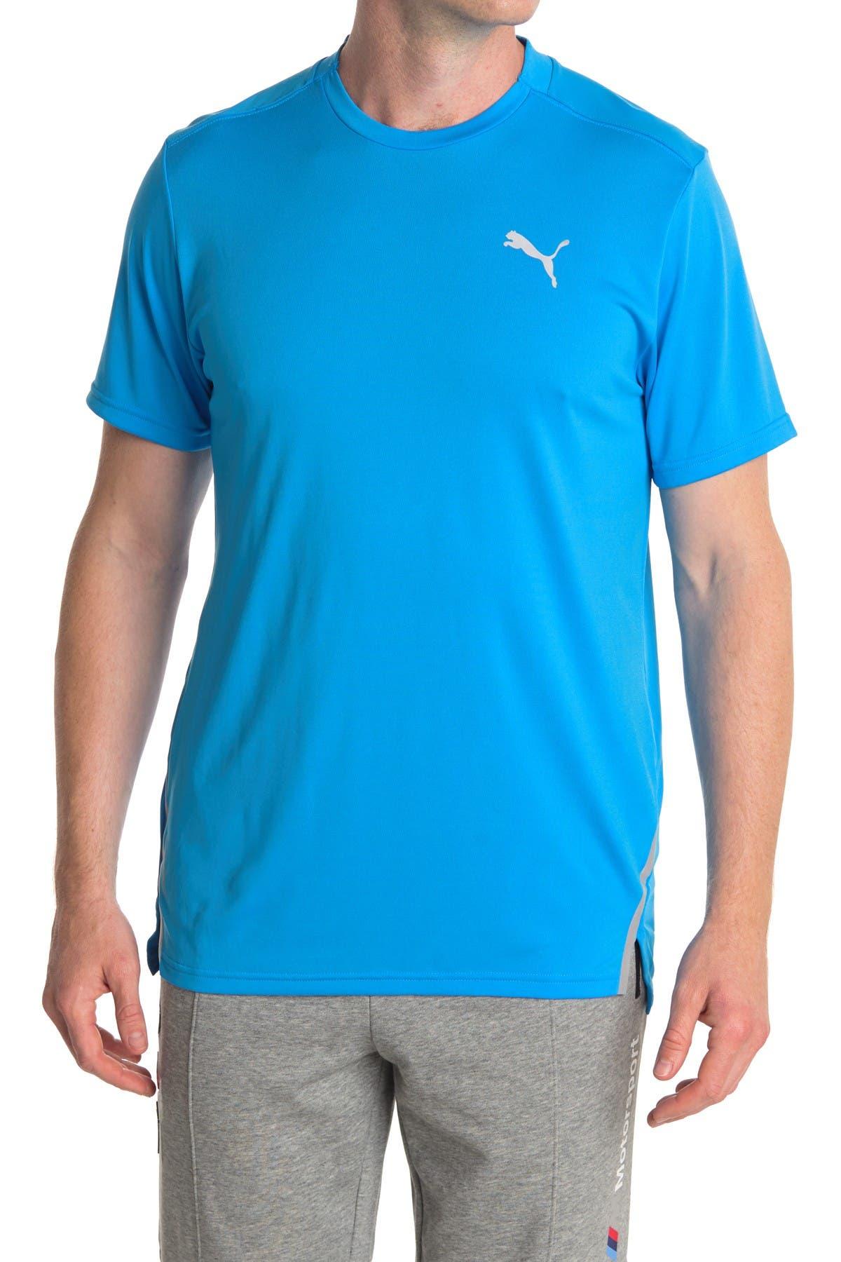 Image of PUMA Run Laser Cat Short Sleeve T-Shirt