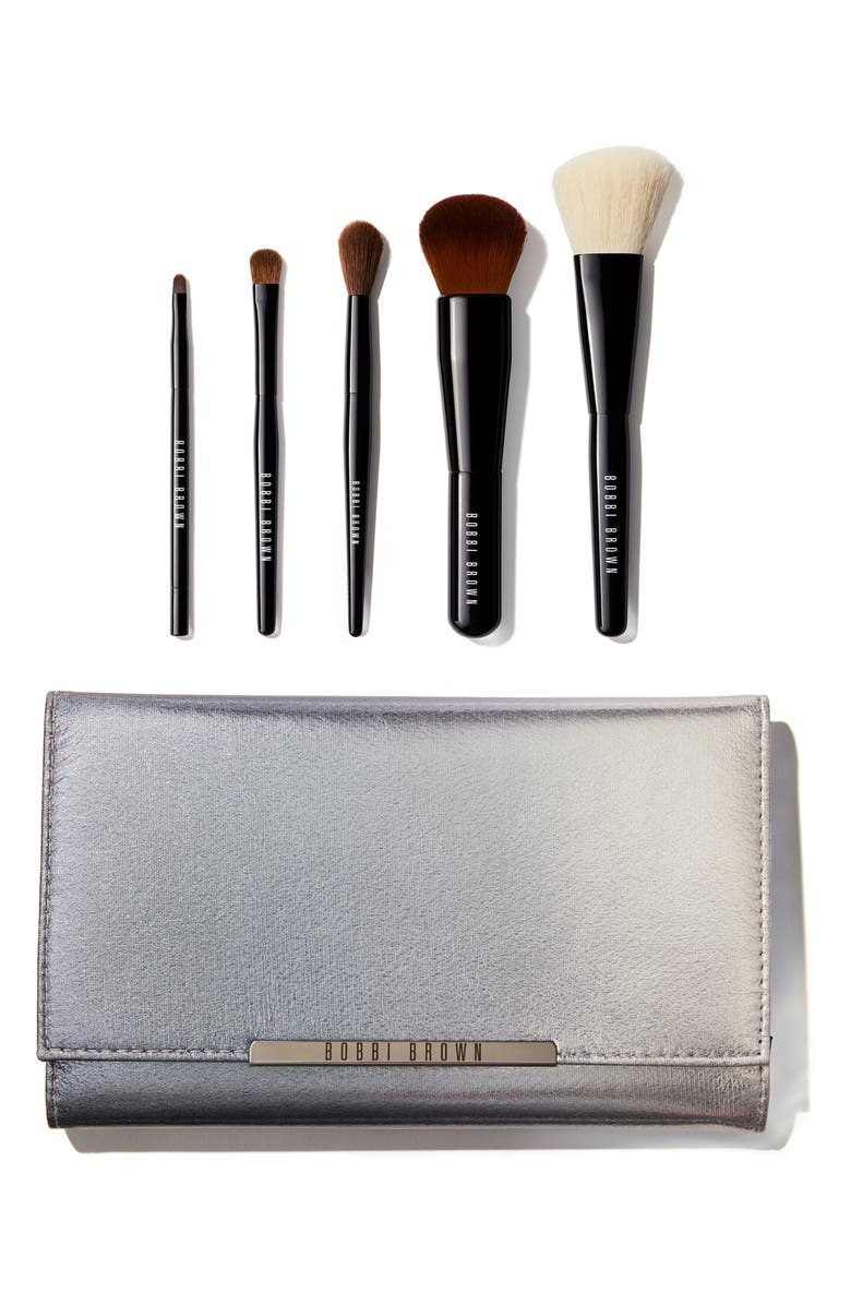 BOBBI BROWN Essentials Travel Size Brush Set, Main, color, 000
