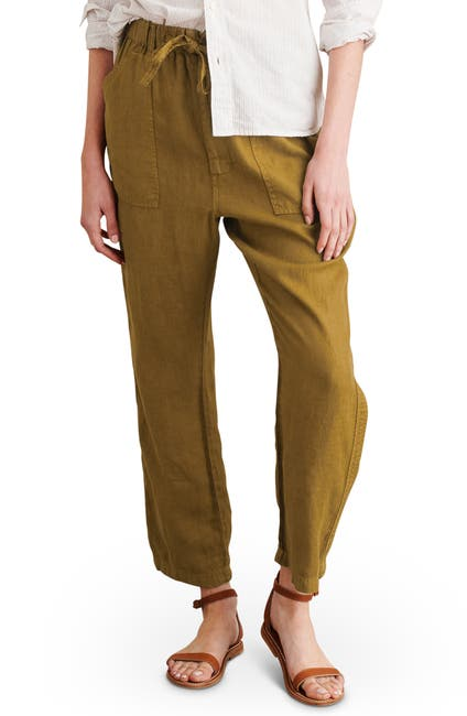 Image of ALEX MILL Linen Tie Waist Pants