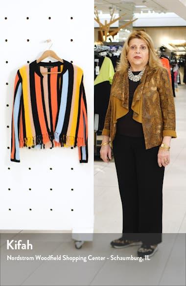Stripe Knit Jacket, sales video thumbnail