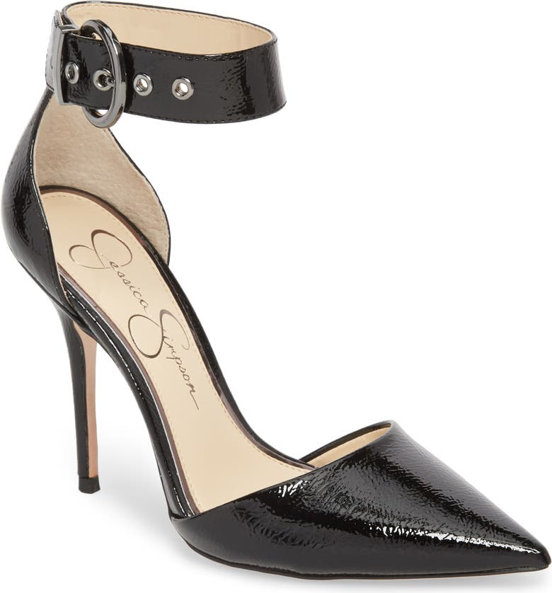JESSICA SIMPSON Waldin Cuff d'Orsay Pump, Main, color, 001