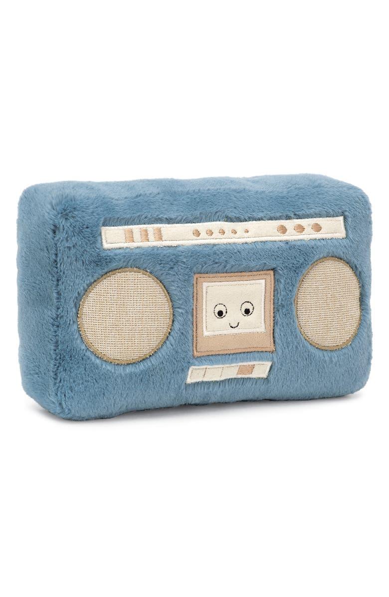 JELLYCAT Wiggety Boombox Plush Toy, Main, color, MULTI