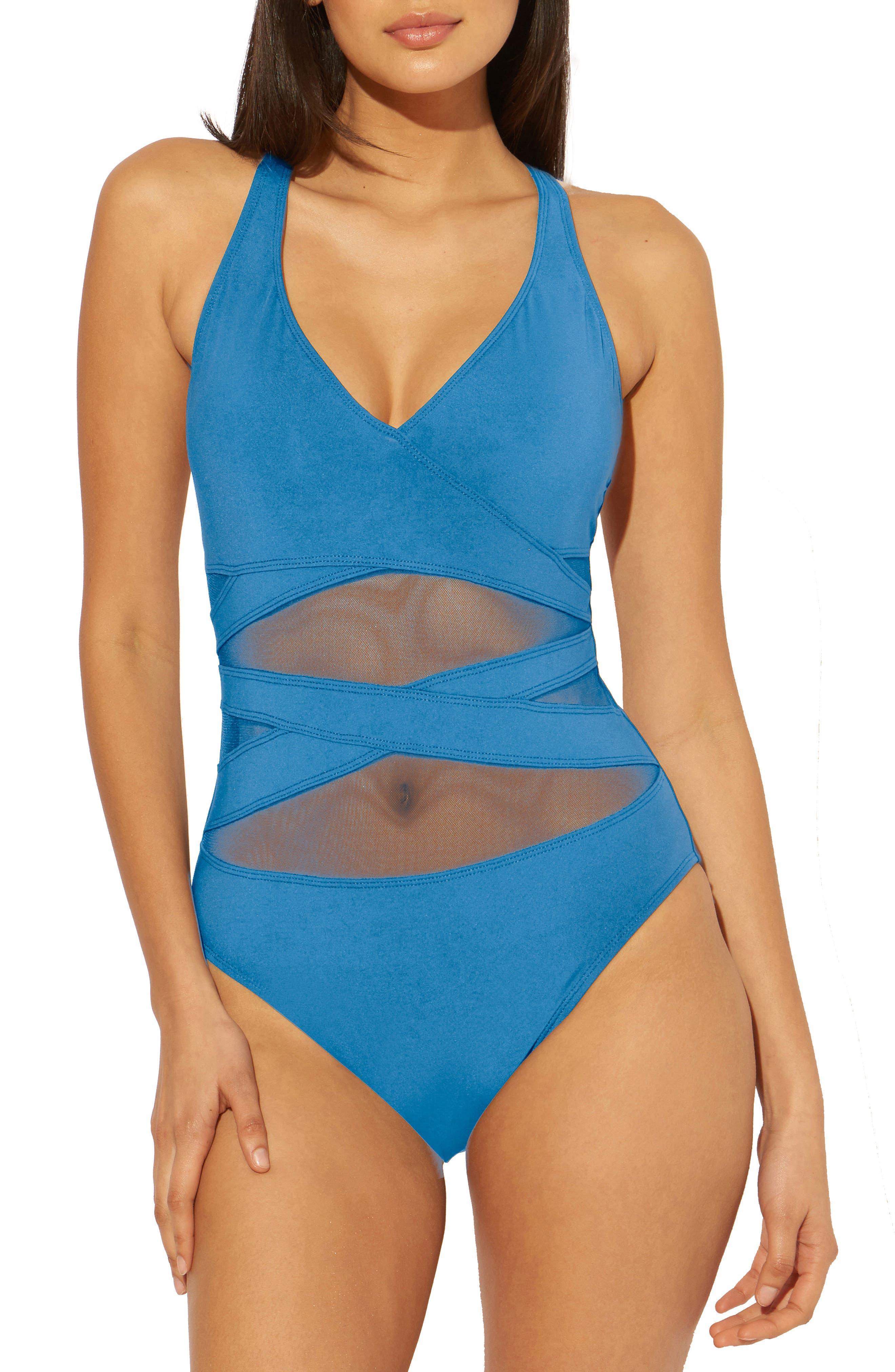 Don'T Mesh With Me One-Piece Swimsuit