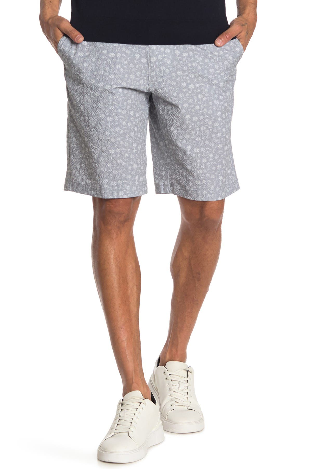 Image of Jack Nicklaus Palm Tree Print Shorts