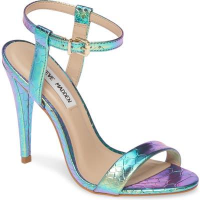 Steve Madden Carmelina Sandal, Blue/green