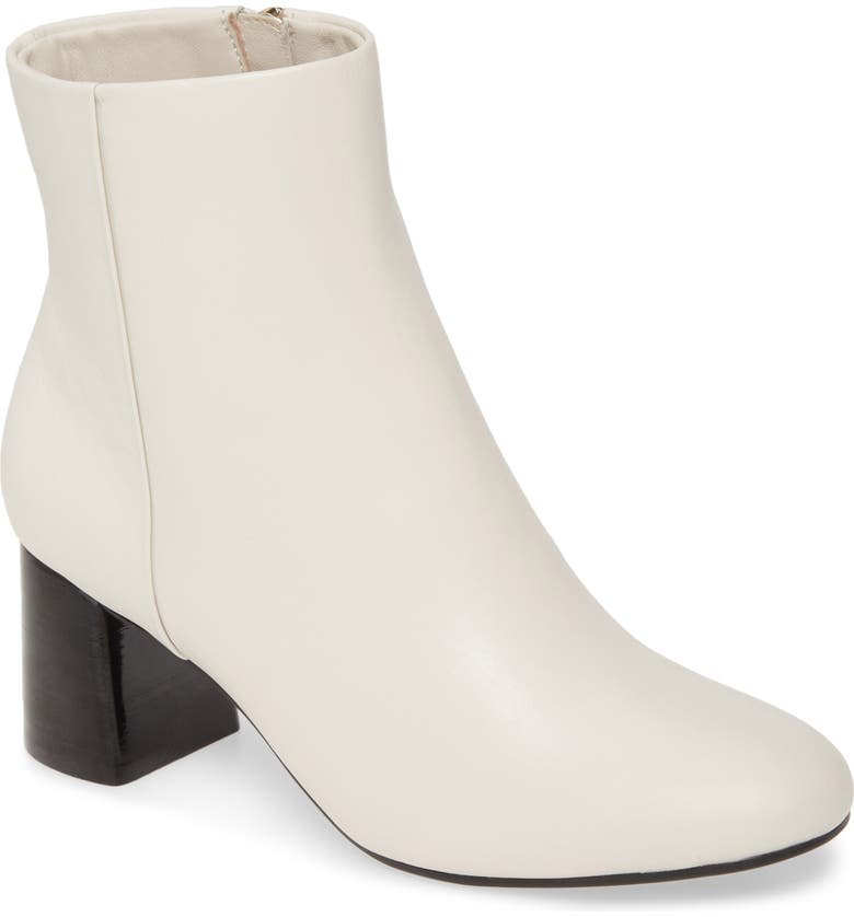 TARYN ROSE Cathy Rose Bootie, Main, color, CHALK LEATHER