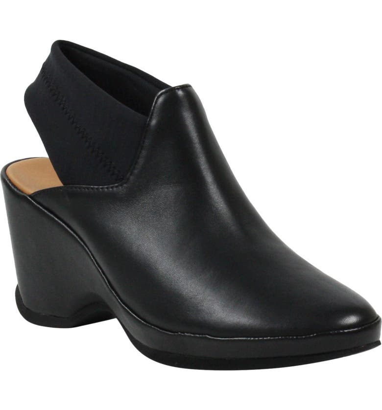 L'AMOUR DES PIEDS Oniella Bootie, Main, color, BLACK SHEEP NAPPA