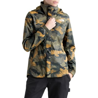 The North Face Resolve Ii Hooded Waterproof/windproof Parka, Green