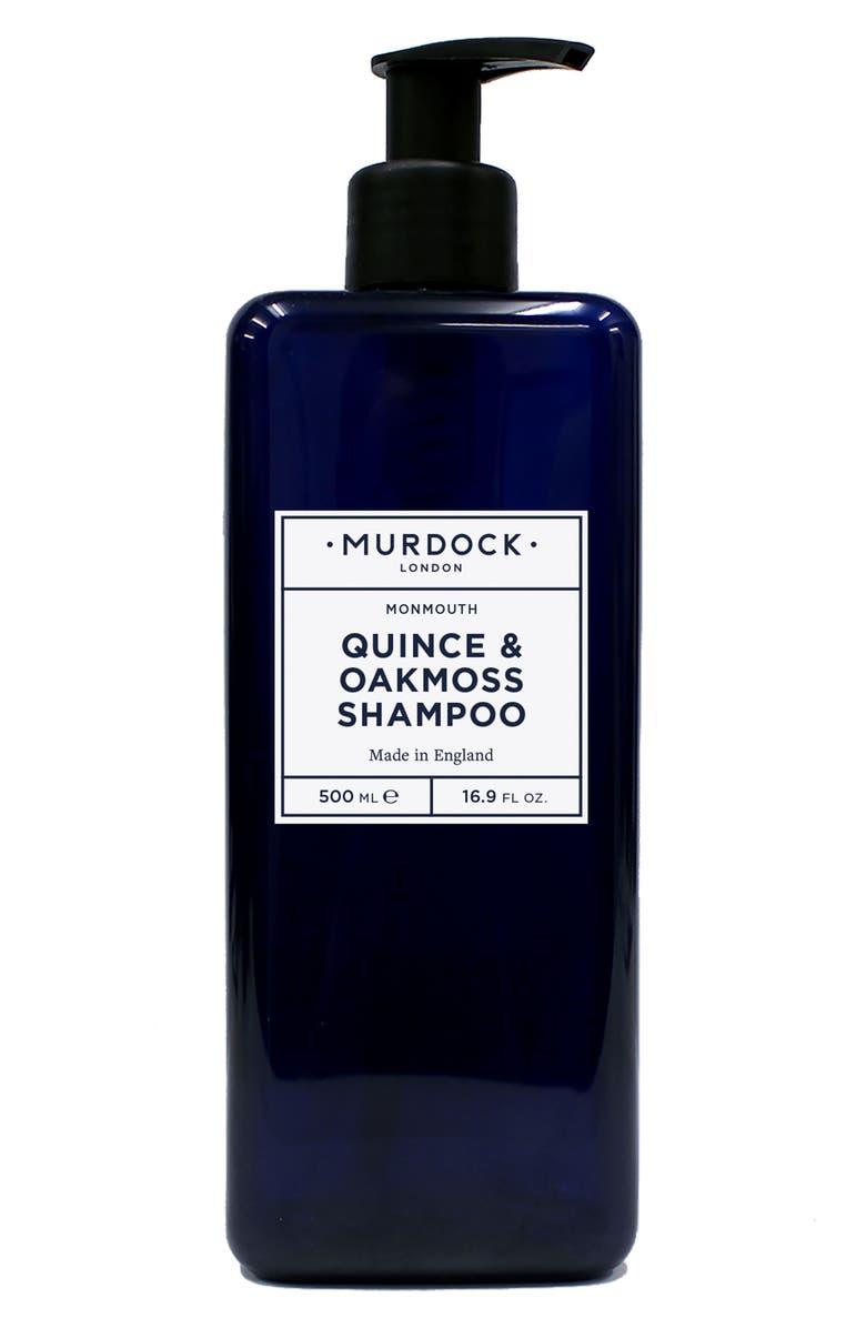 MURDOCK LONDON Jumbo Quince & Oakmoss Shampoo, Main, color, 000