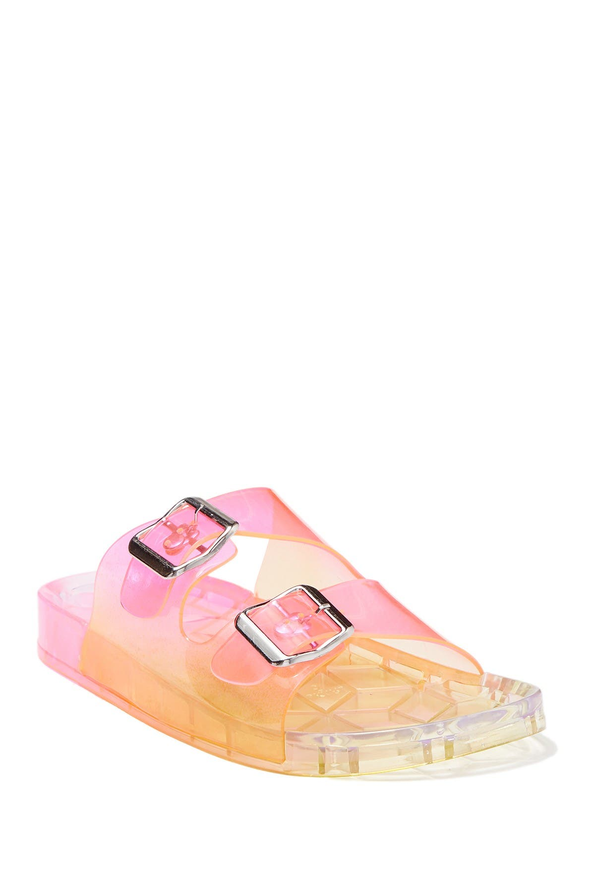 Mario Jelly Double Buckle Slide Sandal