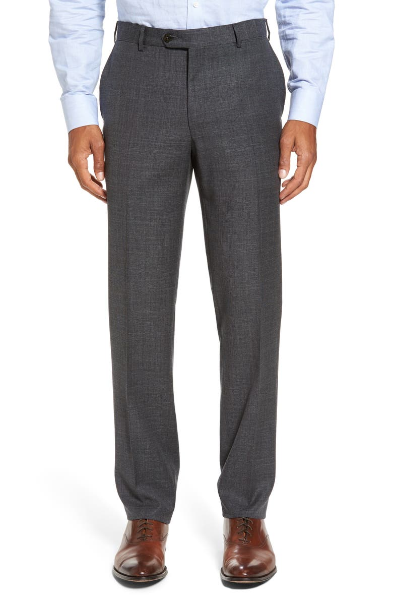 PAL ZILERI Classic Fit Trousers, Main, color, 021