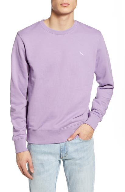 Saturdays Surf Nyc BOWERY SLASH CREWNECK SWEATSHIRT