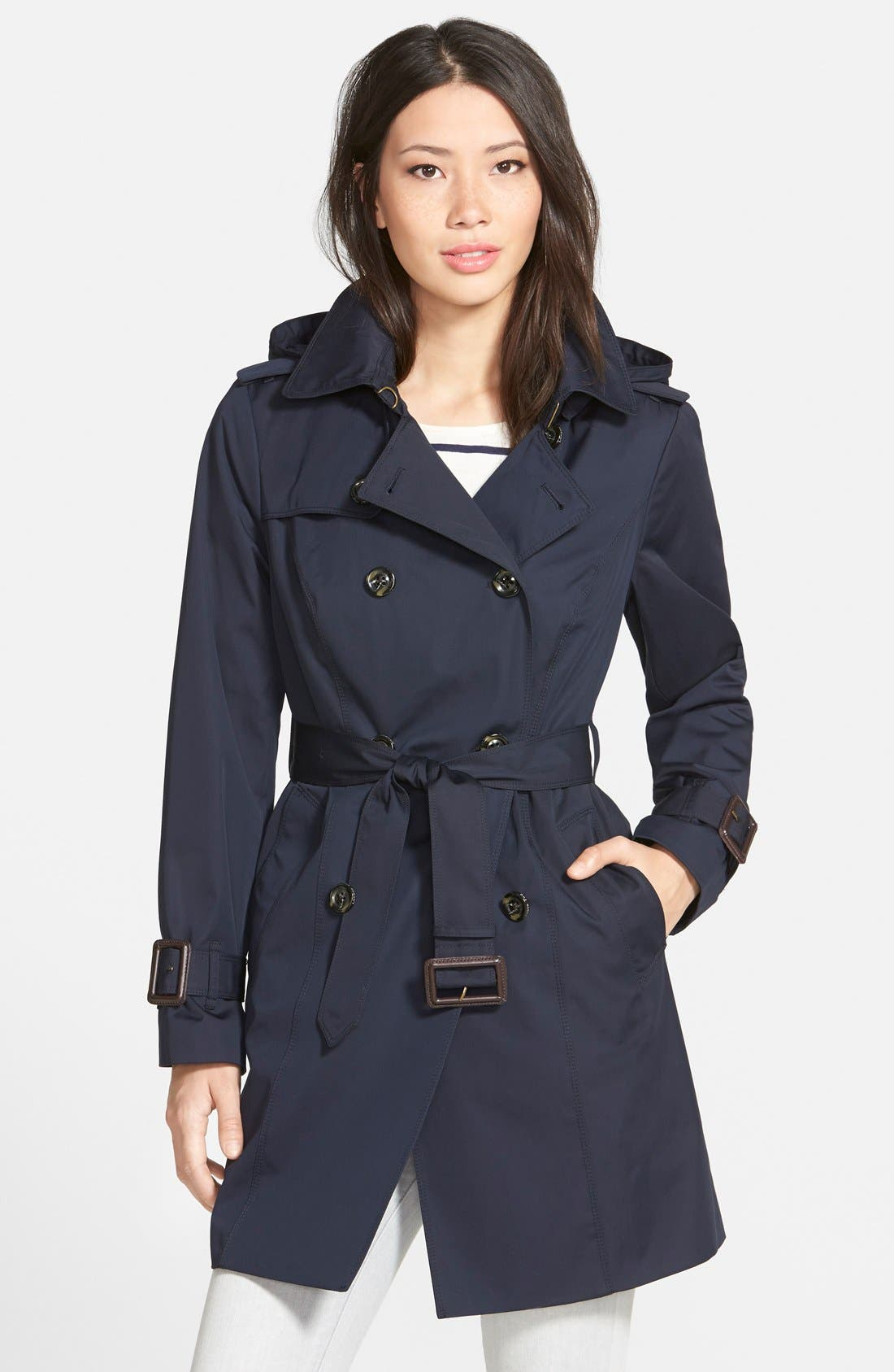 ,                             Heritage Trench Coat with Detachable Liner,                             Main thumbnail 16, color,                             410