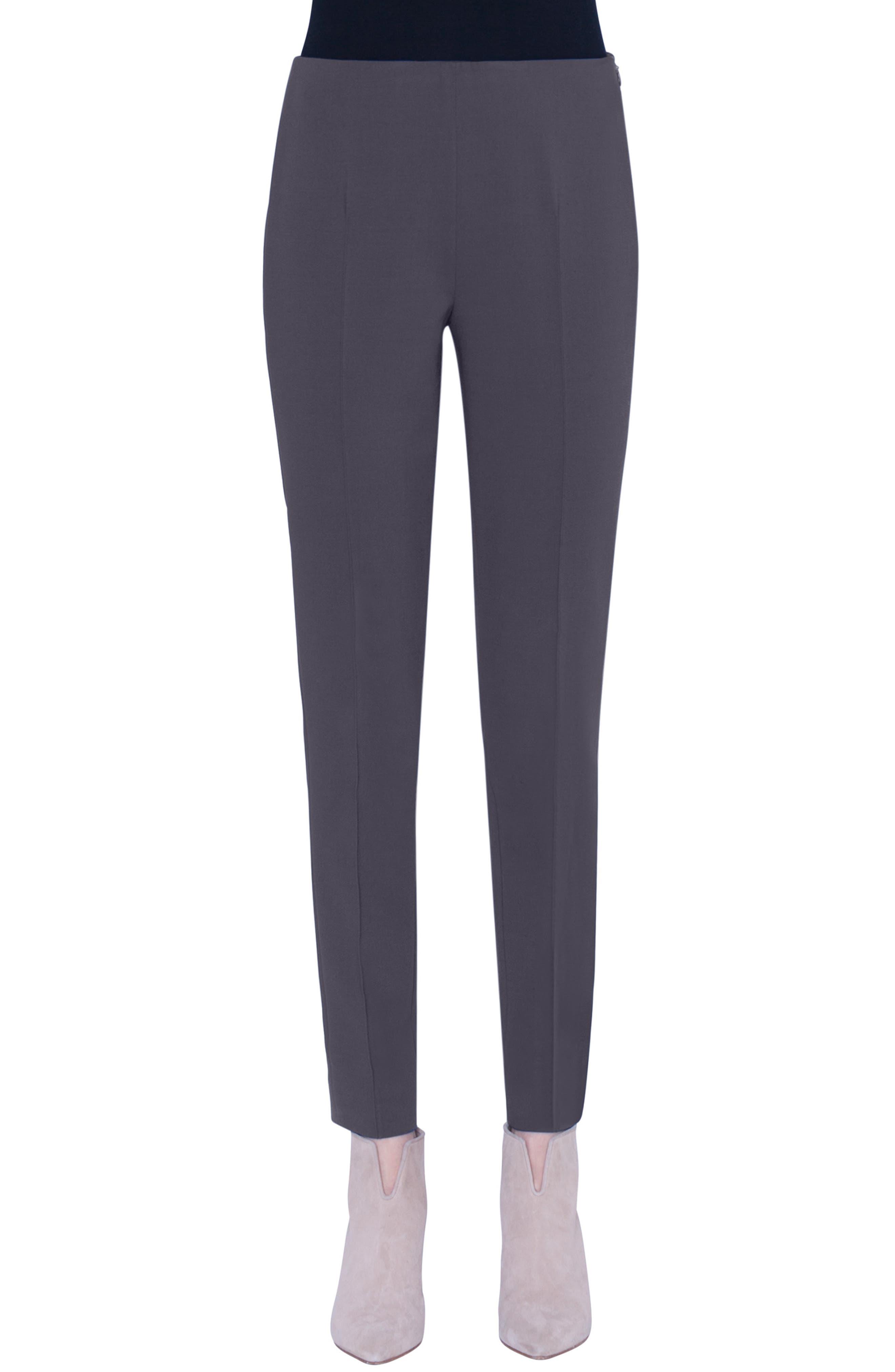 Akris Pants 'Melissa' Slim Techno Cotton Pants