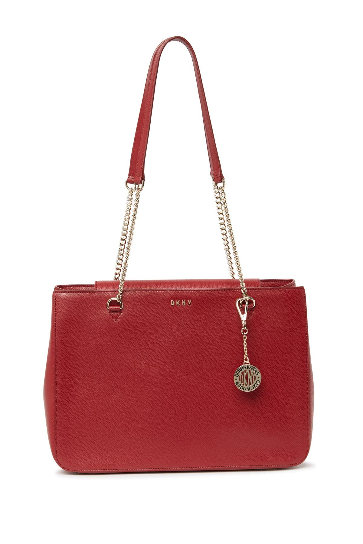 Image of DKNY Leather Shopper