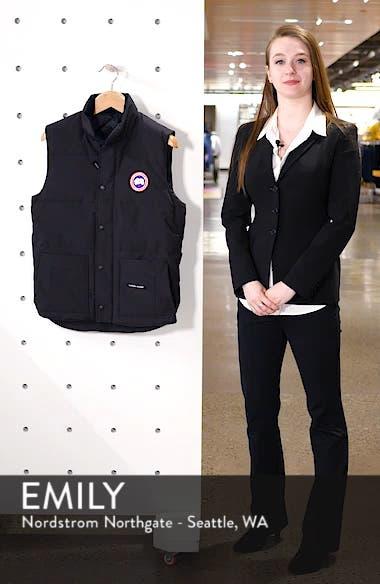 Freestyle Regular Fit Down Vest, sales video thumbnail
