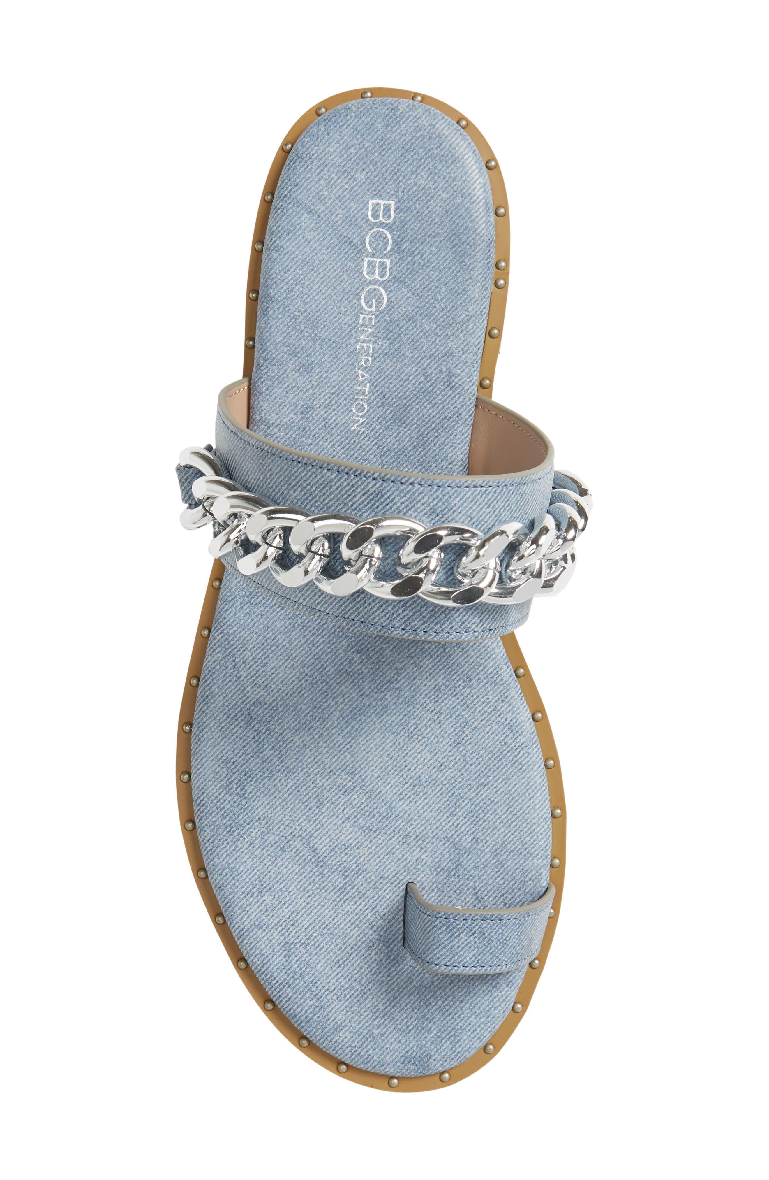 ,                             Zola Chain Slide Sandal,                             Alternate thumbnail 17, color,                             400