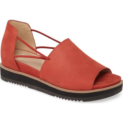 Eileen Fisher Ken Flat- Red