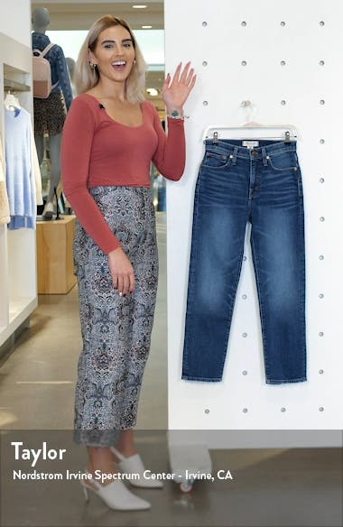 Mid Rise Classic Straight Jeans, sales video thumbnail