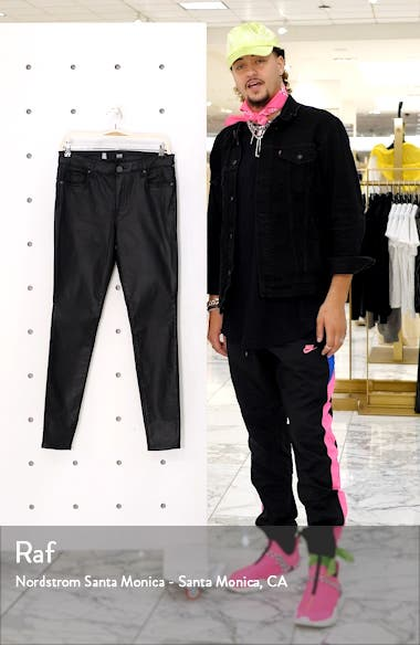 Donna Coated High Waist Skinny Pants, sales video thumbnail