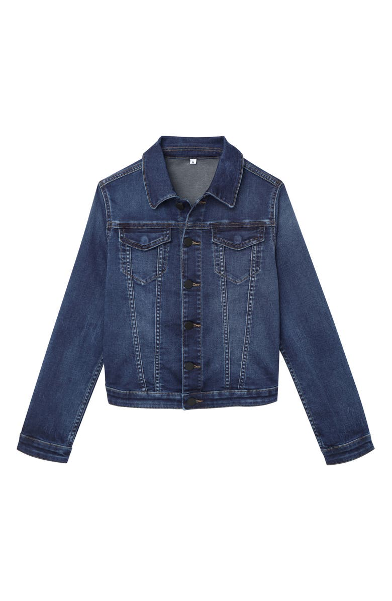 DL1961 Magic Mountain Denim Jacket, Main, color, 400