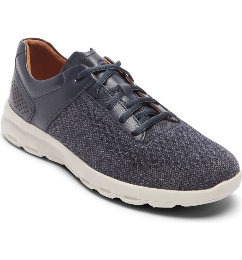ROCKPORT Let's Walk<sup>®</sup> Sneaker, Main, color, NAVY WOOL