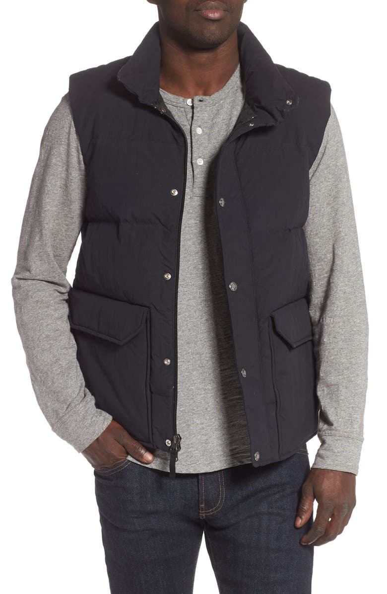 THE NORTH FACE Sierra 3.0 Water Repellent 600 Power Fill Down Vest, Main, color, 001