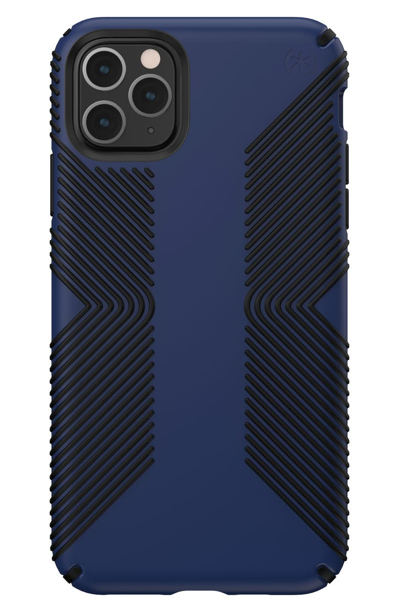 SPECK Presidio<sup>®</sup> GRIP iPhone 11 Case, Main, color, COASTAL BLUE/ BLACK