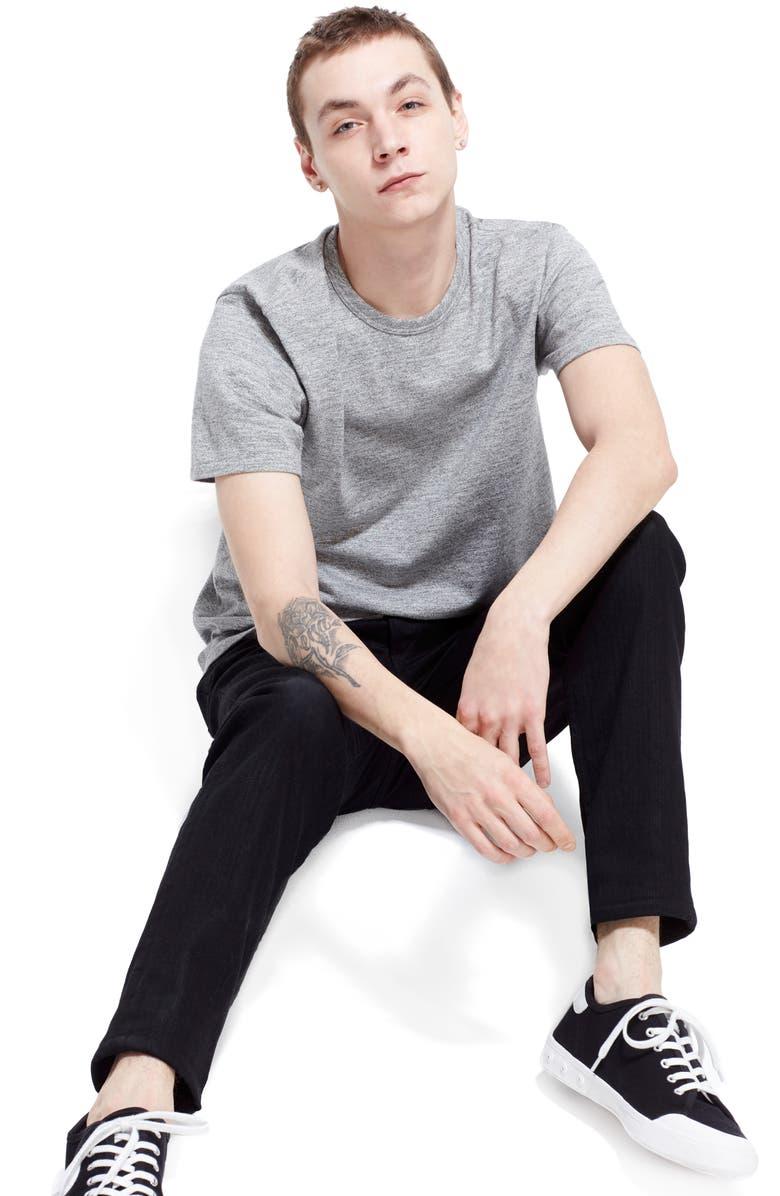 RAG & BONE Standard Issue Fit 1 Skinny Fit Jeans, Main, color, BLACK