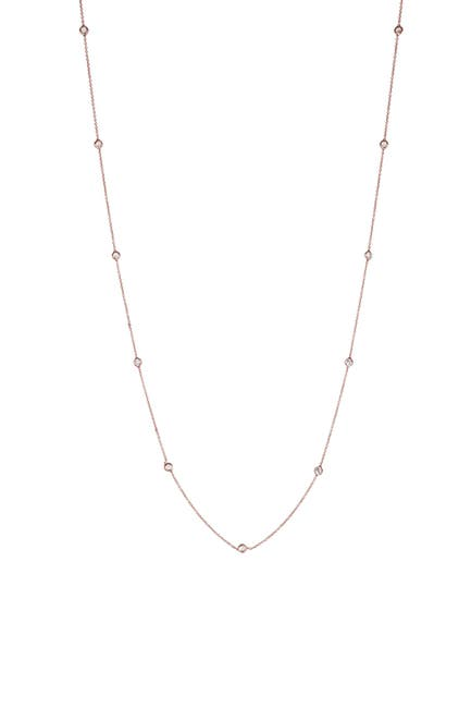 "Image of CZ By Kenneth Jay Lane CZ 36"" Long Chain Necklace"