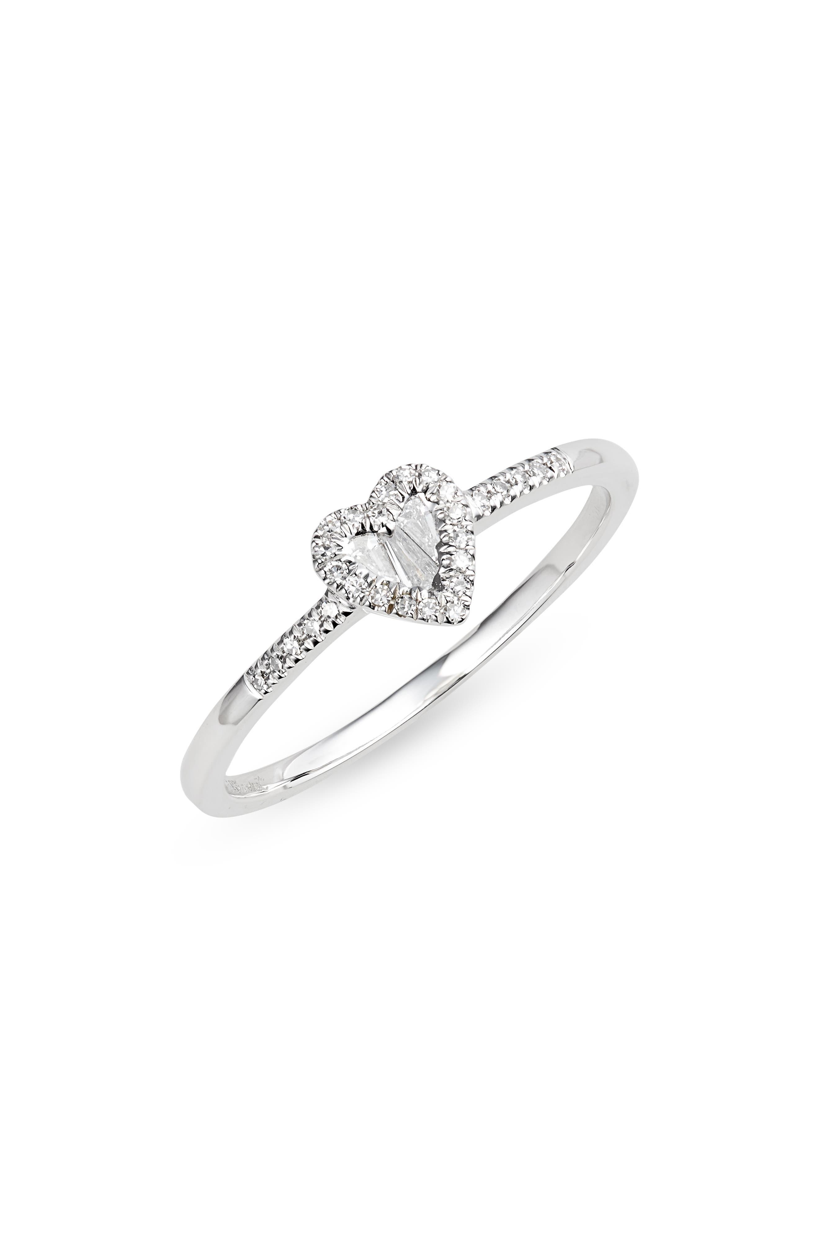 Women's Meira T Diamond Heart Ring -  1R4619W6