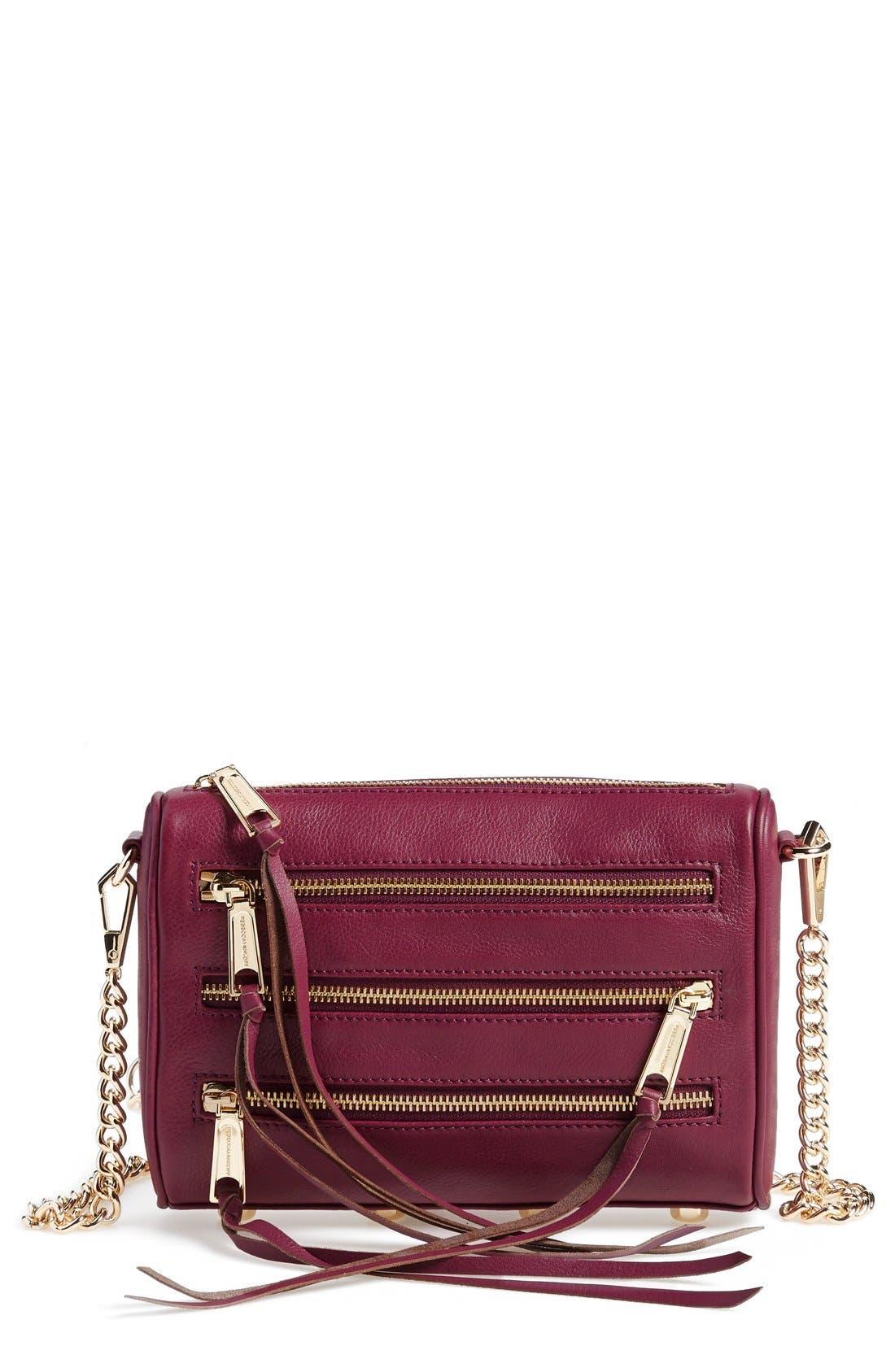 ,                             'Mini 5 Zip' Convertible Crossbody Bag,                             Main thumbnail 18, color,                             500
